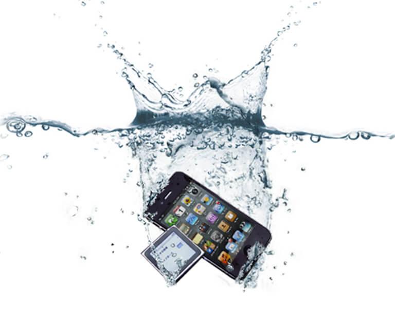 iphone水没修理