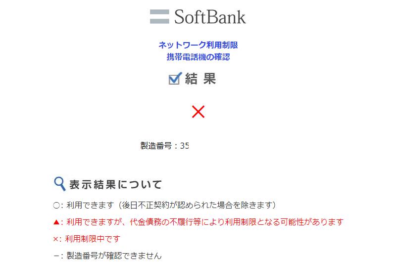 ネットワーク利用制限×